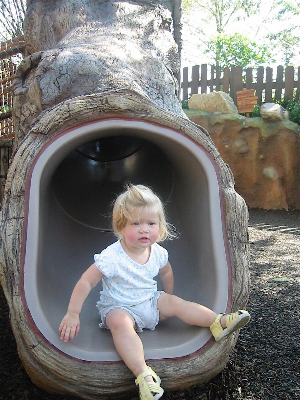 The Winnie the Pooh playground