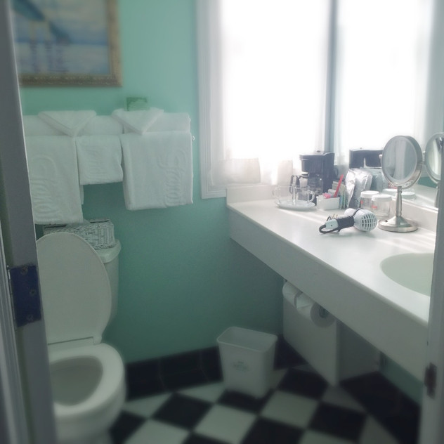 Bathroom at The Grand Hotel