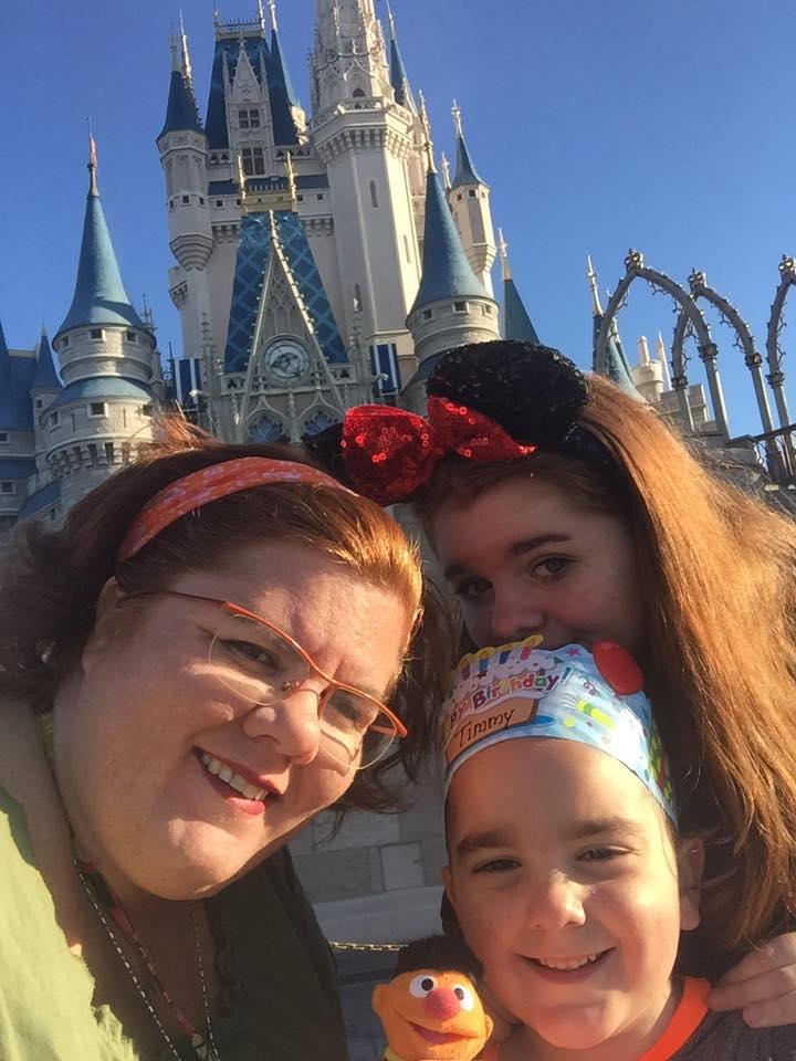 Kids at Cinderella Castle
