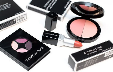 Mineralogie make-up