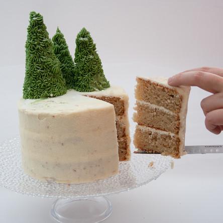 Fresh Pear Layer Cake