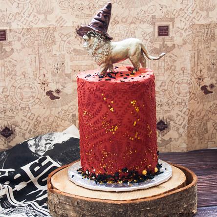 Harry Potter Butter Beer Cake