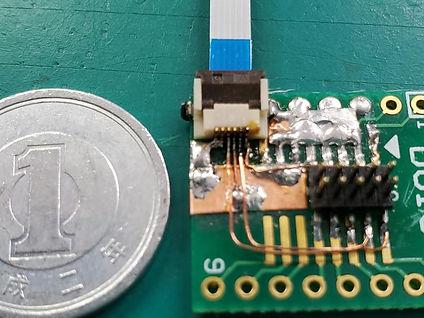 Bluetooth通信実験のための手作り基板