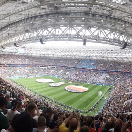 Mi encuentro con el césped del Mundial