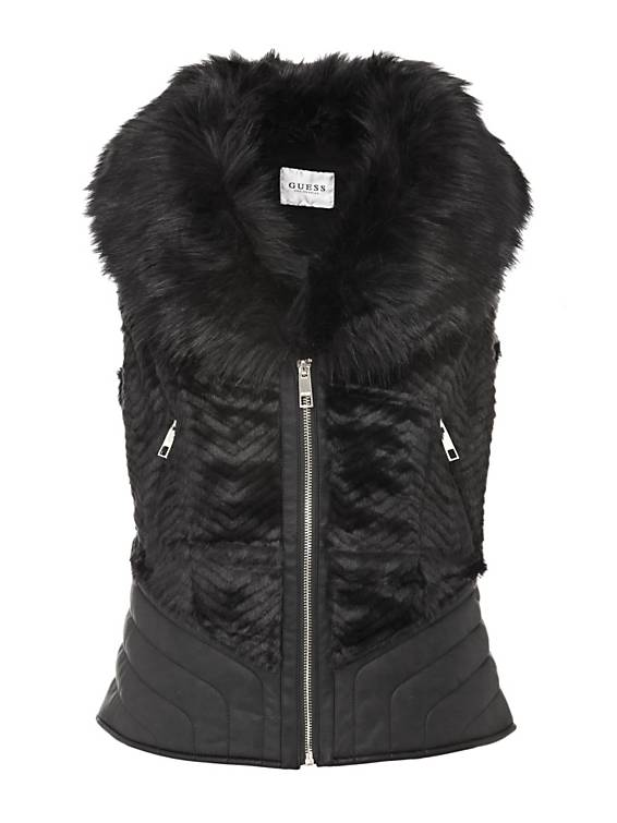 Gilet nero Guess