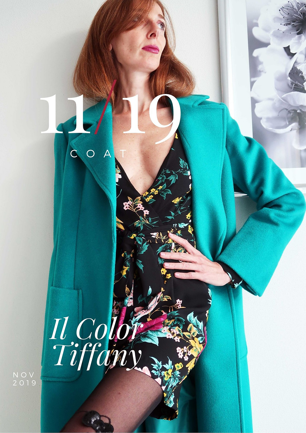 Il cappotto color Tiffany di Maxandco
