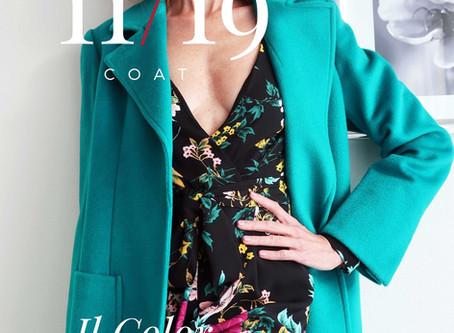 Il cappotto color Tiffany: come indossarlo di giorno e di sera