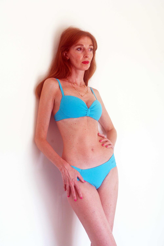 bikini turchese clz