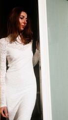 un abito quasi da sposa