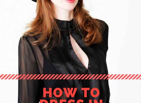 Come vestirsi in cinque minuti