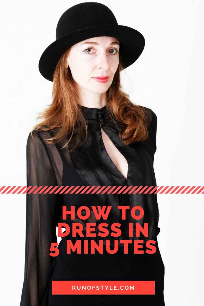 come vestirsi in 5 minuti - guida di stile