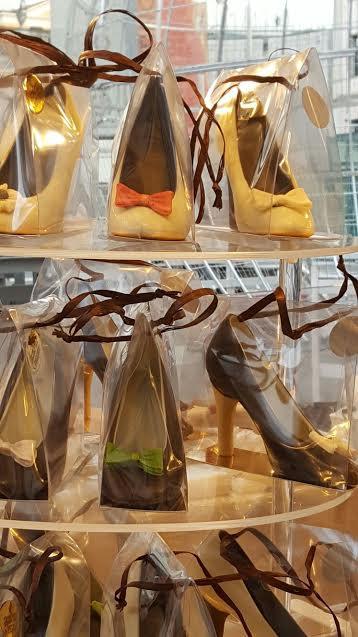 Scarpe di cioccolato