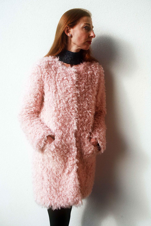 pelliccia rosa soft baby