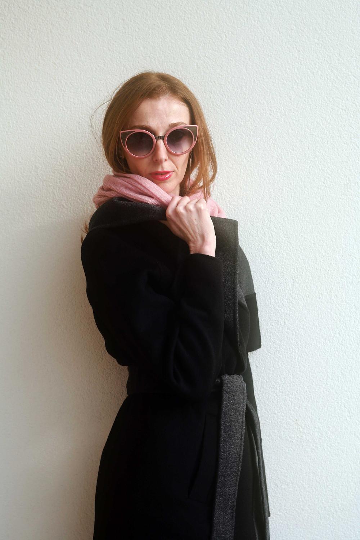pinko pink sunglasses