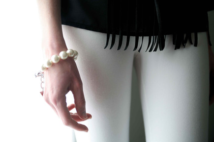 magic white leggings clz
