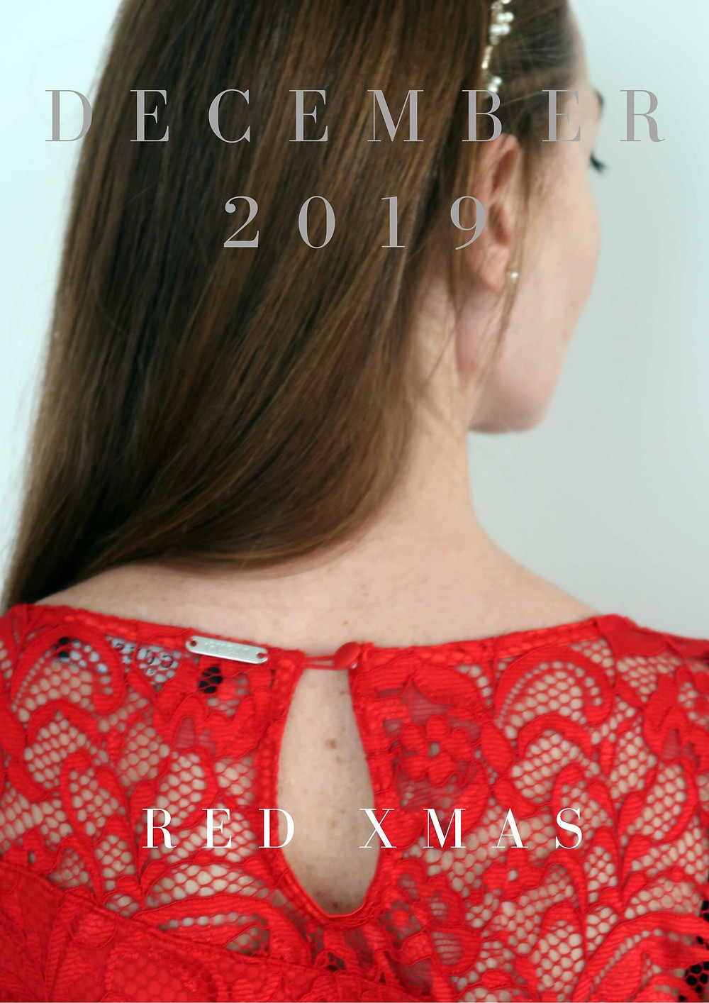 Red dress Guess