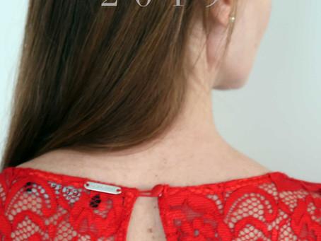 December 2019: red dress xmas