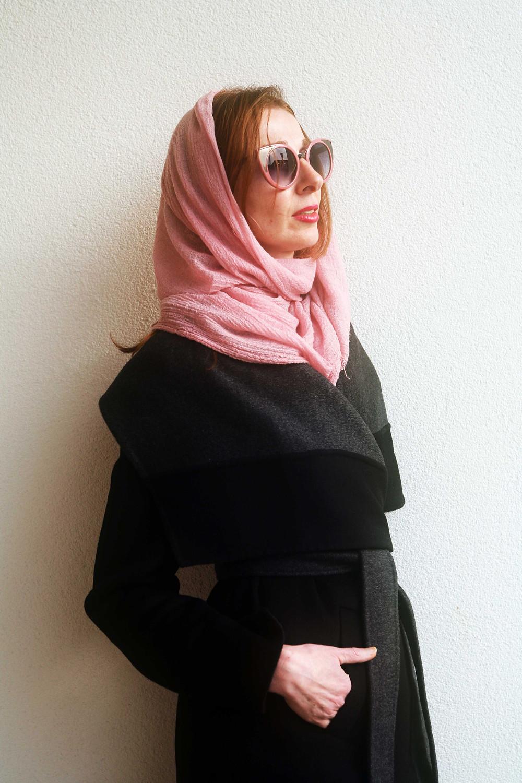 foulard contro il vento