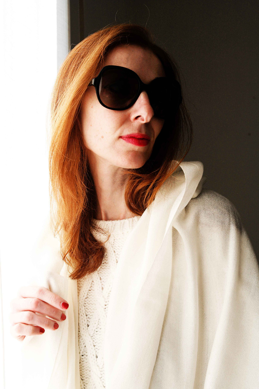 Pull in lana bianco ottico di Stefanel