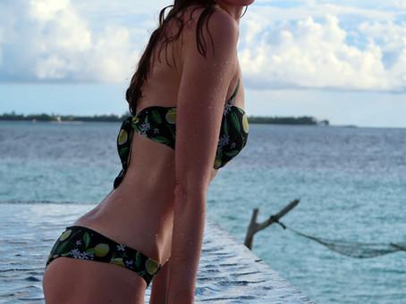 Il mare d'inverno: in bikini alle Maldive