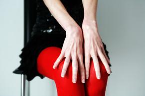 happy red legs