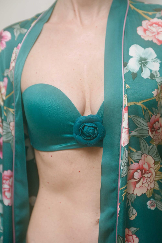kimono con bikini