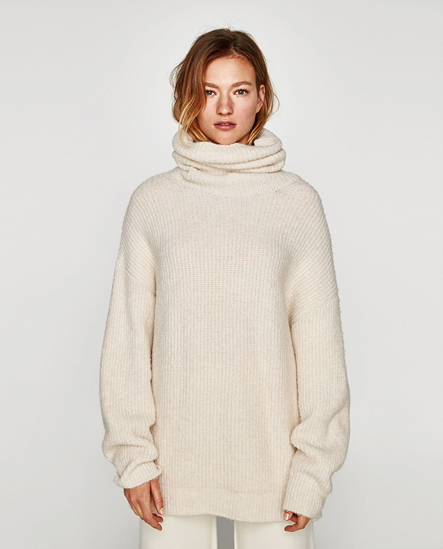 pull over size white