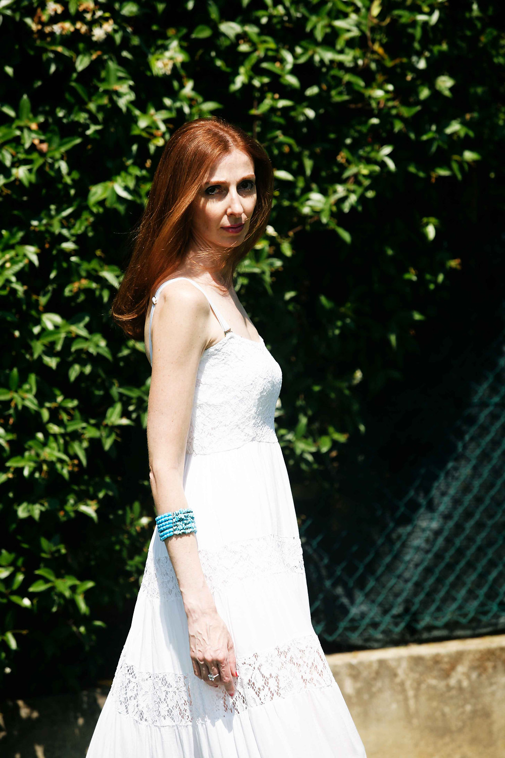 long white dress for summer