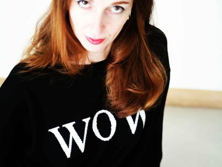 Dress telling: tendenza lettering