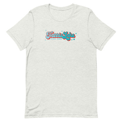 Retro Harris Lake (BLUE) - Unisex T-Shirt