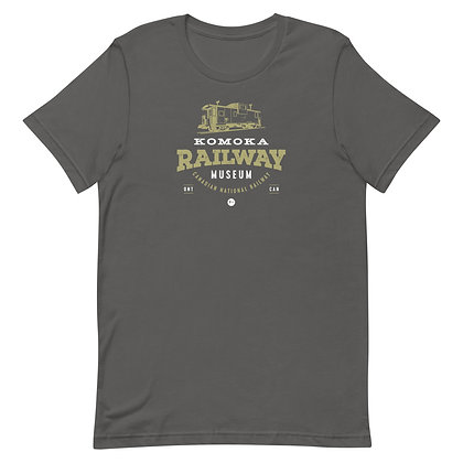 Komoka Railway Museum (Caboose) - Short-Sleeve Unisex T-Shirt