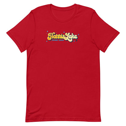 Retro Harris Lake (ORANGE) - Unisex T-Shirt