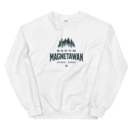South Magentawan (TREES) - Unisex Sweatshirt