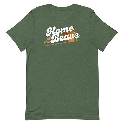 Home of the Beave - Short-Sleeve Unisex T-Shirt