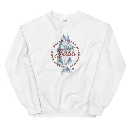 Mouth of the Magnetawan Largemouth Bass - Unisex Sweatshirt