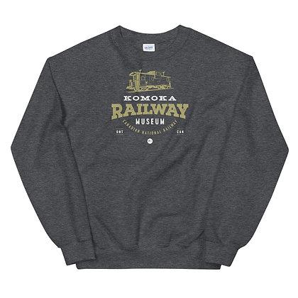 Komoka Railway Museum (Caboose) - Unisex Sweatshirt