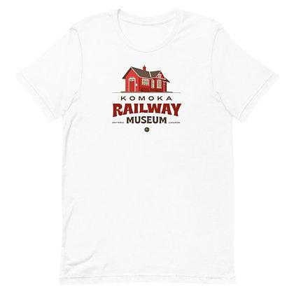 Komoka Railway Museum (Station) - Short-Sleeve Unisex T-Shirt