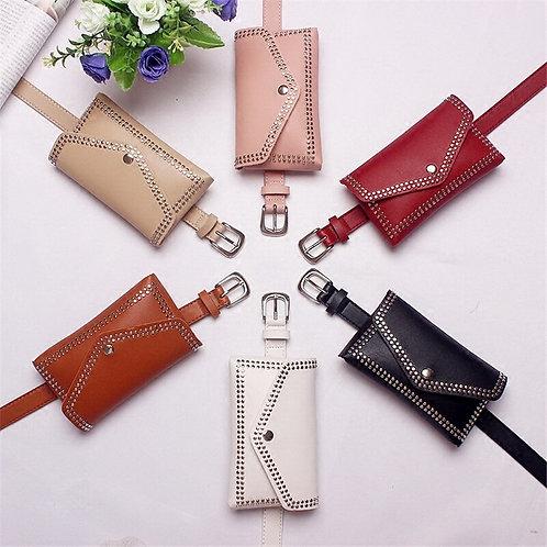 Signature BQ Leather Belt Waist Pack