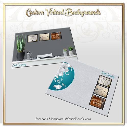 Custom Virtual Backgrounds