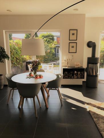 Inneneinrichtung und Grundrissoptimierung von Wohnhaus