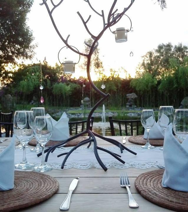 Heiraten am See - Tischdekoration