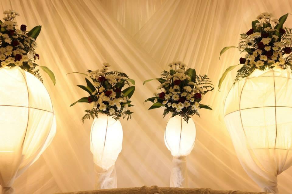 Hochzeitszelt - Beleuchtung