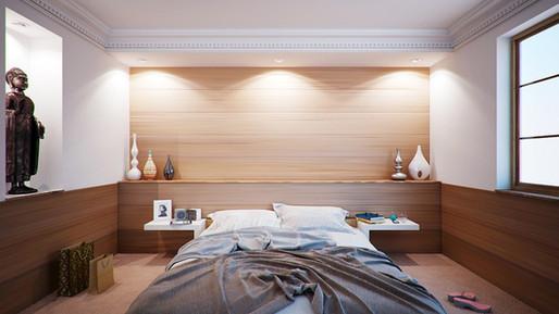 Asiatischer Look für Schlafzimmer