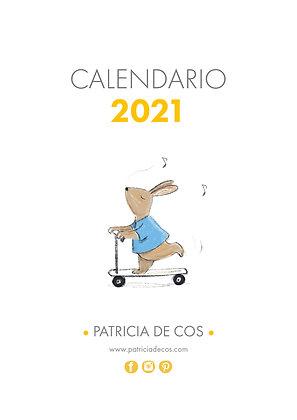 Calendario 2021 Patricia de Cos. Descargable