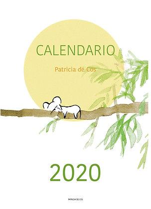 Calendario Patricia de Cos 2020