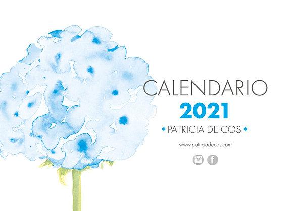 Calendario Flores 2021/Flower Calendar 2021 ©PatriciadeCos