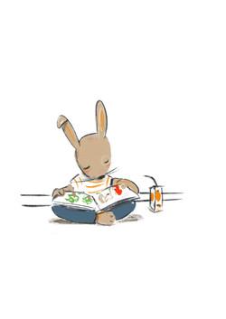 Conejito lector
