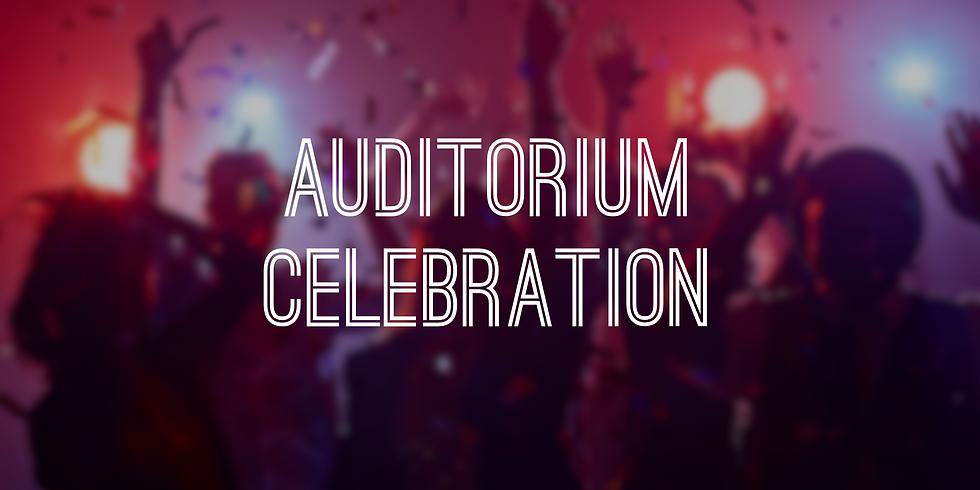 Auditorium Renovation Celebration