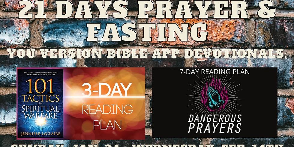 21 Days Prayer and Fasting