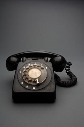 טלפון חוגה ישן